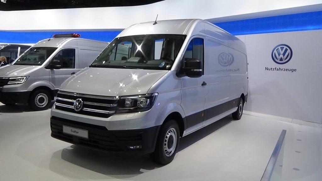 Volkswagen Crafter дизайн