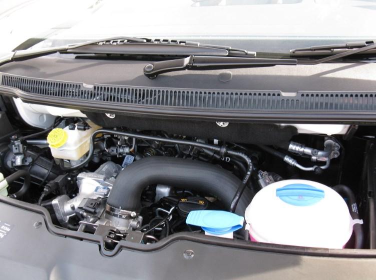 Volkswagen Crafter мотор