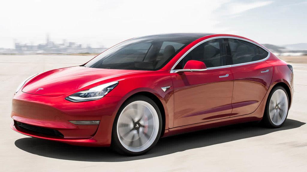 Tesla Model 3 дизайн