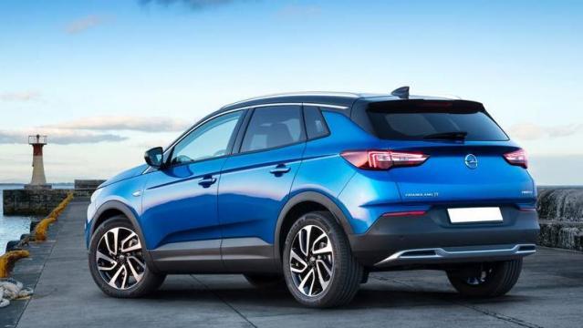 Opel Grandland X экстерьер