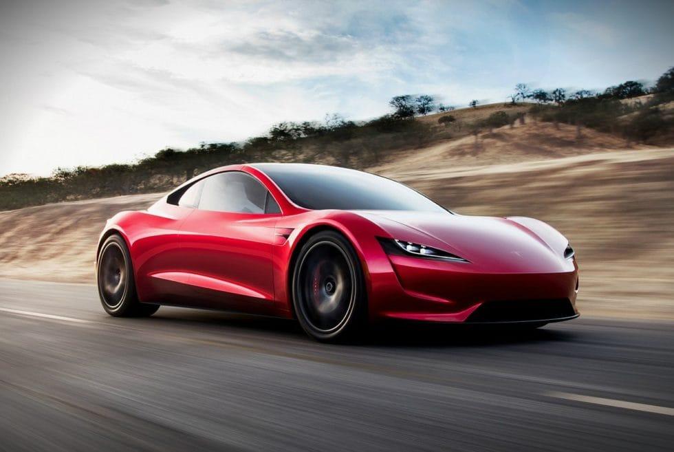 Tesla Roadster 2 дизайн